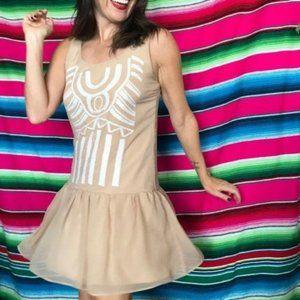 Bar lll Drop Waist Sequin Dress 20's Flapper Style